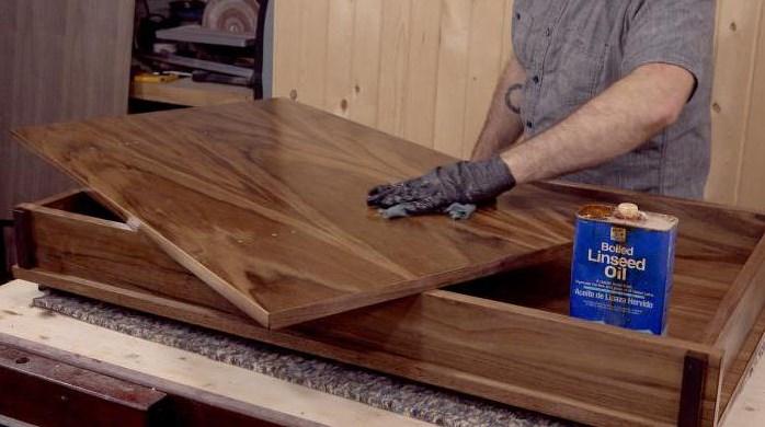 Масляная пропитка мебели из массива дерева шаг за шагом. Инструкция