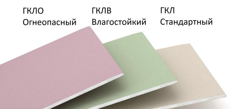 Разные виды гипсокартона для решения простых и сложных задач