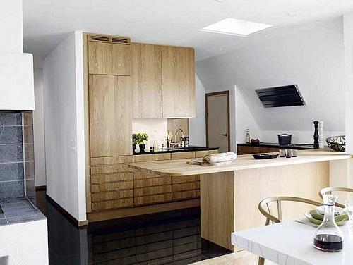 кухни деревянные -фото