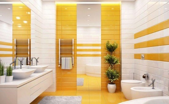 Какой цвет плитки выбрать для ванной комнаты