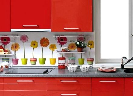 Кухонный фартук из стеновых панелей