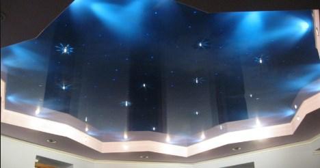 натяжной потолок небо звездное