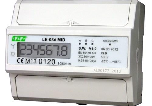 Высокоинтеллектуальные многофункциональные электронные счётчики LE. Обзор и отзывы