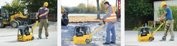 Бензиновые виброплиты – удобная и практичная альтернатива строительному катку