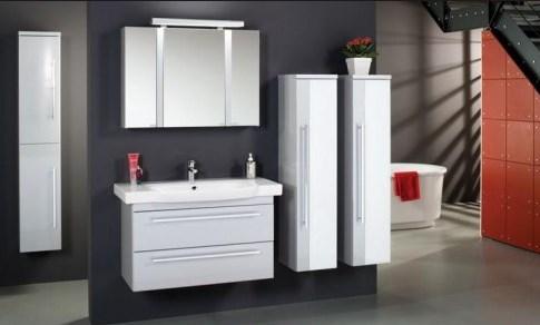 навесные шкафы в ванную