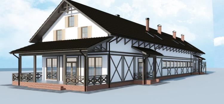 Украинский бизнес доверяет каркасным домам