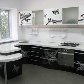 Недорогие кухни на заказ в Киеве от компании ISTmebel