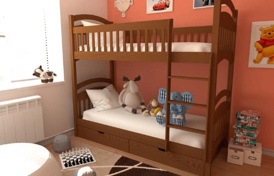 Одна комната, две кровати — как обустроить спальную зону в комнате для двоих детей?