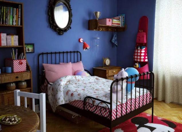 комната ребенка в стиле ретро