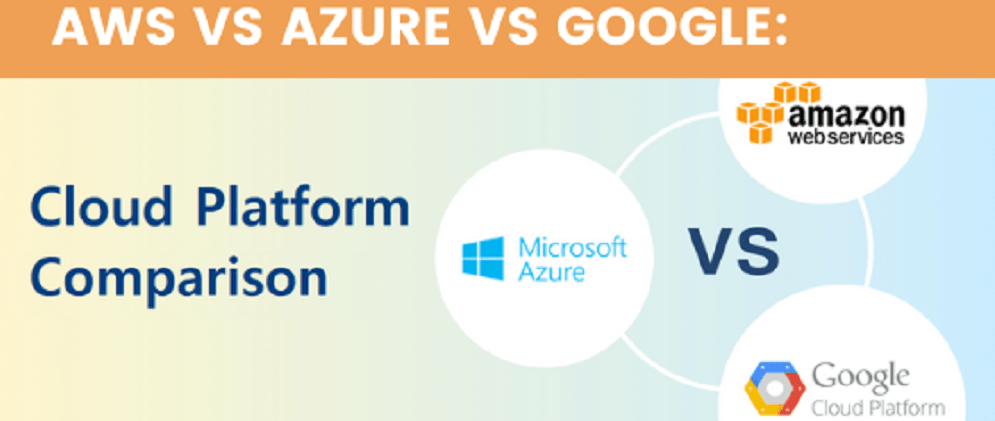AWS vs Azure vs Google: Cloud Platform Comparison