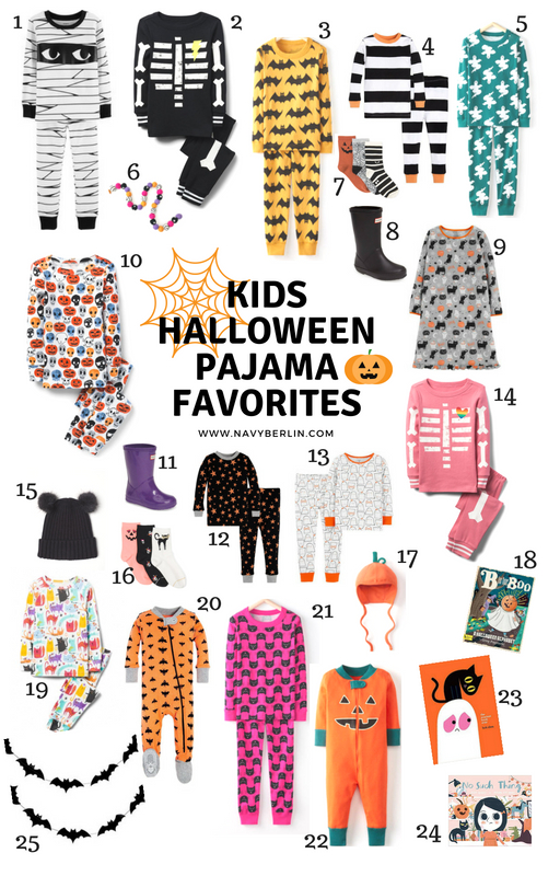 kids halloween pajama favorites