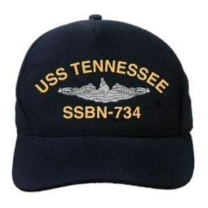 SSBN 734 USS Tennessee Embroidered Hat
