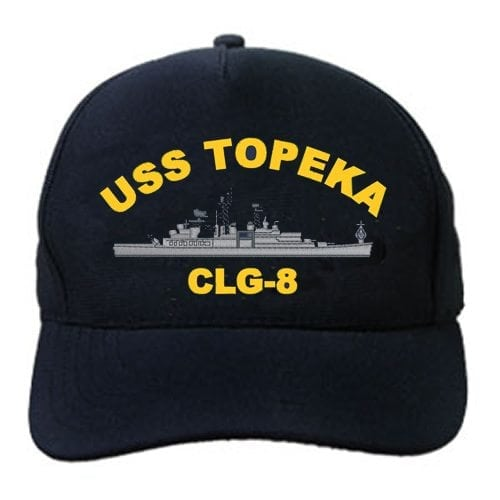 CLG 8 USS Topeka Embroidered Hat