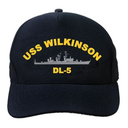 DL 5 USS Wilkinson Embroidered Hat