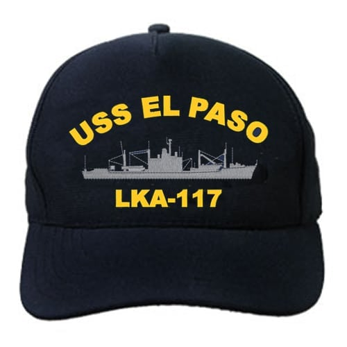 LKA 117 USS El Paso Embroidered Hat