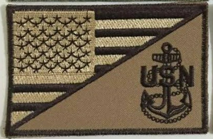 E-7 - Navy Chief (CPO) Flag Patch - The Chart Room 86a4f0214c0