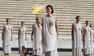 Ολυμπιακή φλόγα εκδηλώσεις