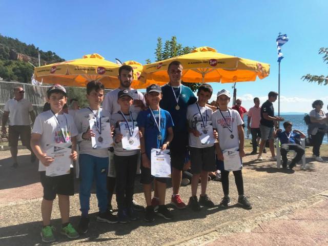 2 ασημένια και τέσσερα χάλκινα μετάλλια για τους αθλητές του Ν.Α.Ο.Κ.Θ σε διασυλλογικούς αγώνες Κανόε Καγιάκ στο Βόλο