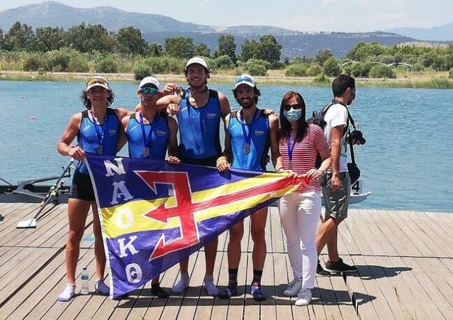 Με 6 μετάλλια (3 χρυσά, 2 ασημένια και 1 χάλκινο) επέστρεψε από το Πανελλήνιο Πρωτάθλημα Κωπηλασίας ο ΝΑΟΚΘ (Φώτο.)