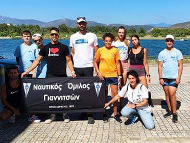 Εξαιρετικός απολογισμός για τον Ν. Ο. Γιαννιτσών στο Πανελλήνιο πρωτάθλημα κωπηλασίας