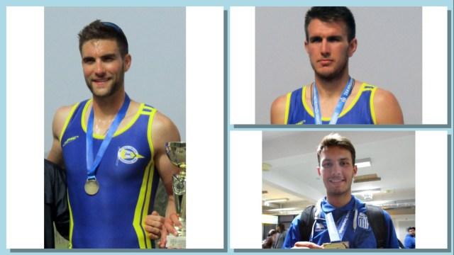 Τρεις αθλητές του Ν.Ο. Ιωαννίνων προπονούνται στον Σχινιά με το βλέμμα στην επόμενη χρονιά