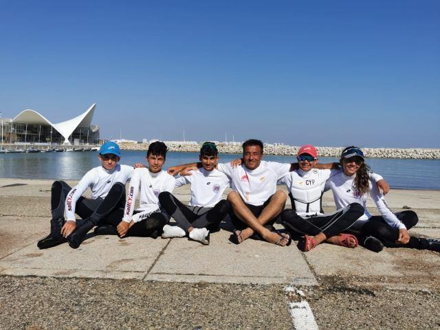 Επιτυχημένες κρίνονται οι πέντε κυπριακές συμμετοχές στο ευρωπαϊκό πρωτάθλημαOptimistστην Ισπανία