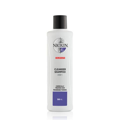 Nioxin System 6 Cleanser Shampoo Chemically Treated Hair