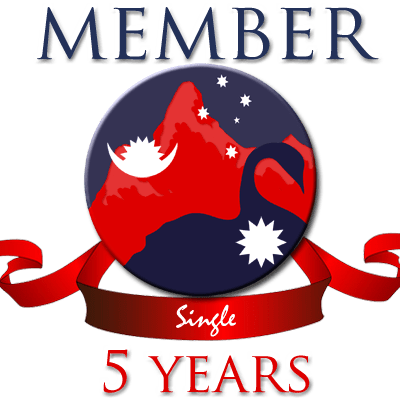 Single membership – 5 years