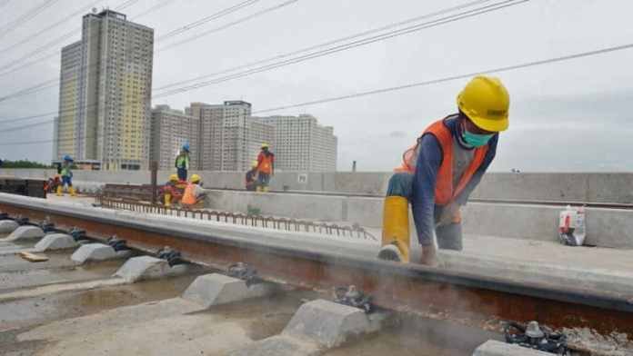 Pembangunan LRT Jakarta