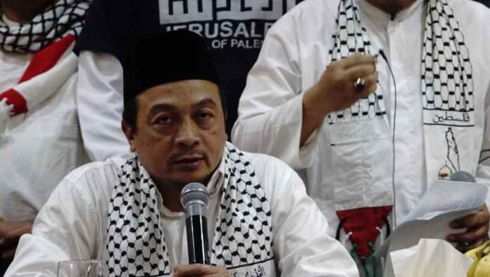 Ketua Koalisi Indonesia Bela Baitul Maqdis Bachtiar Nasir