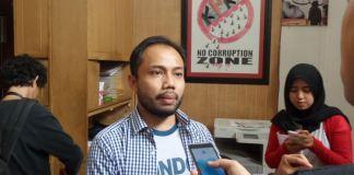 Kepala Divisi Korupsi Politik Indonesia Corruption Watch (ICW) Donal Fariz