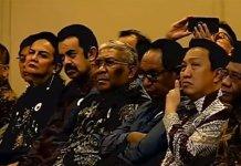 Pengusaha Minyak Riza Chalid Hadiri Kuliah Jokowi