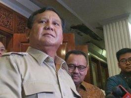 Bakal Calon Presiden Prabowo Subianto