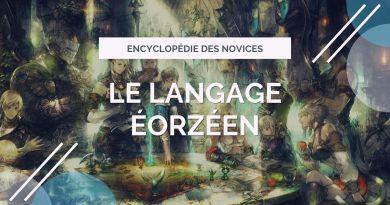 Illustration - Le langage éorzéen