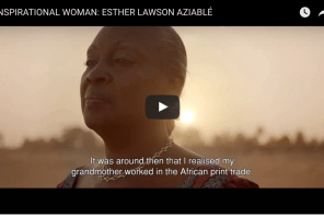 Esther Aziablé: Keeping Togo's Nana Benz tradition alive