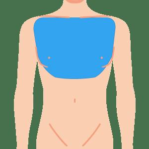 L body mune - メンズ全身 8部位脱毛 回数券 (4回)