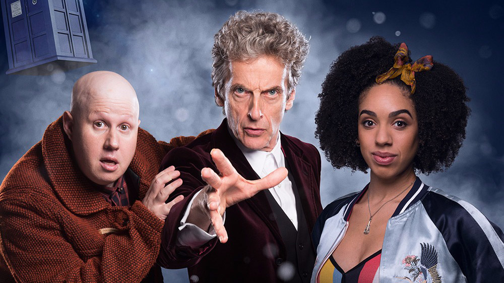 A Tour of the TARDIS with Pearl Mackie and Matt Lucas -Doctor Who Series 10