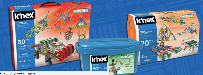 K'NEX Education Sets Bring STEAMagination To The Classroom