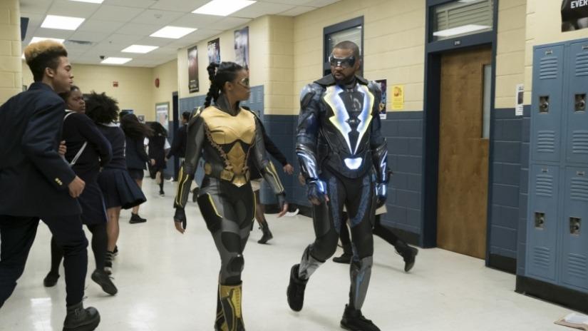 Black Lightning: Hallway Monitors
