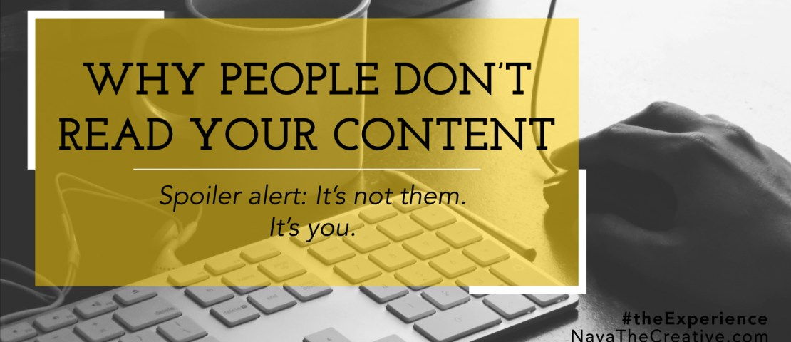 Why People Don't Read Your Content