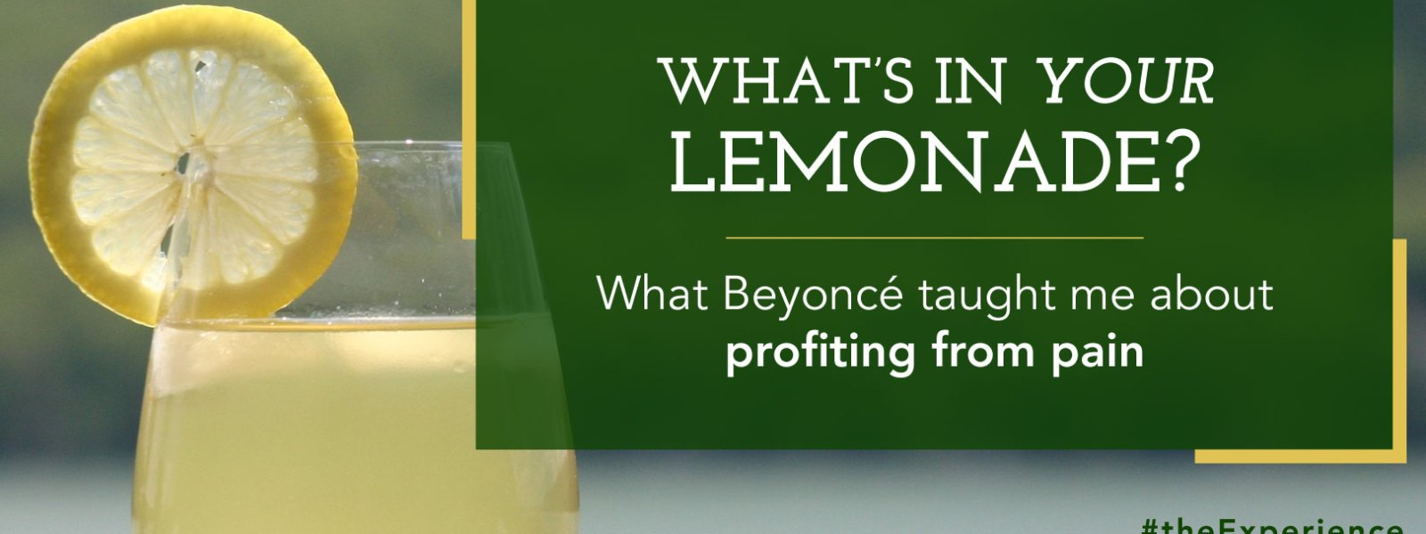 What's in YOUR Lemonade?
