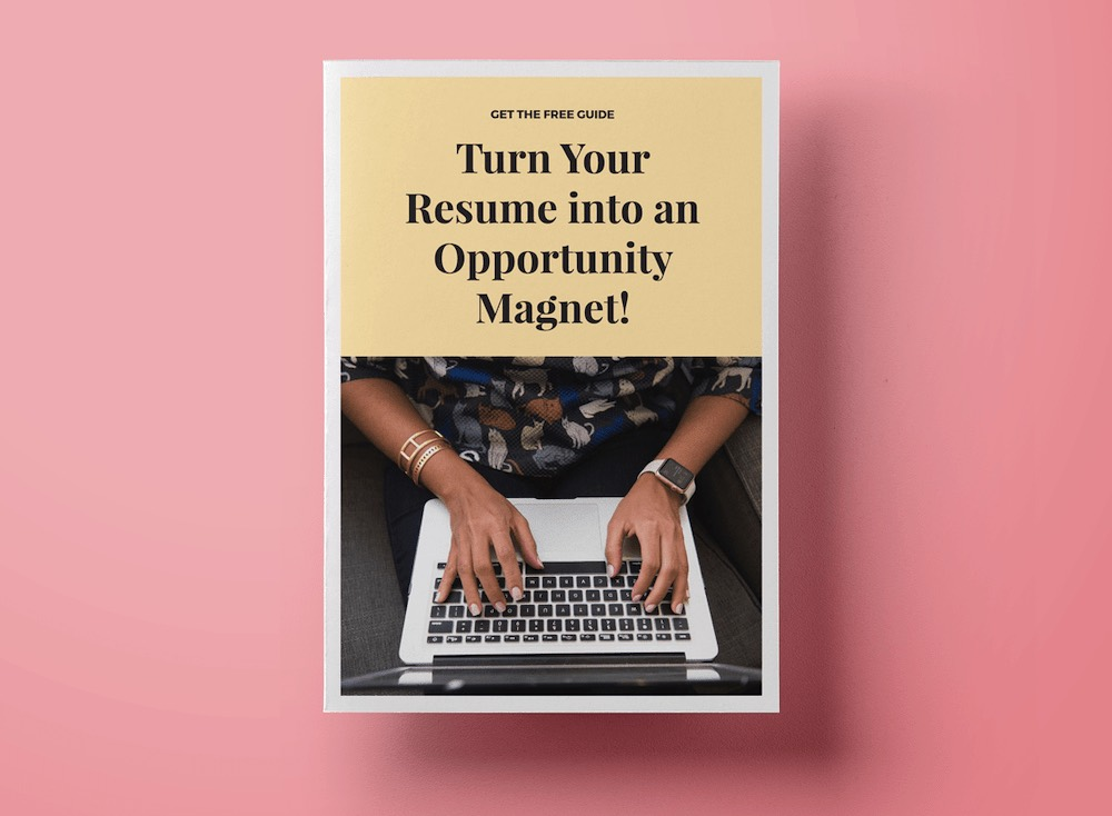 Resume Guide Cover