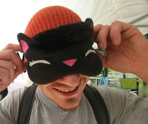 Nayeli Clothing: Kitty Sleep Mask