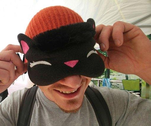 Nayeli Clothing: Kitty Sleep Mask