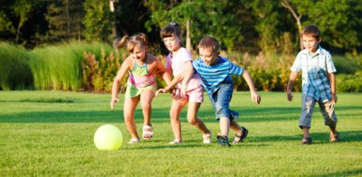 early child development through physical activities