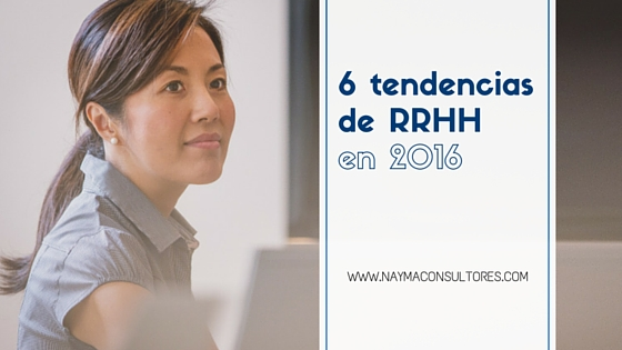 Tendencias RRHH en 2016