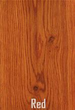 Dubová podlaha odstín červená