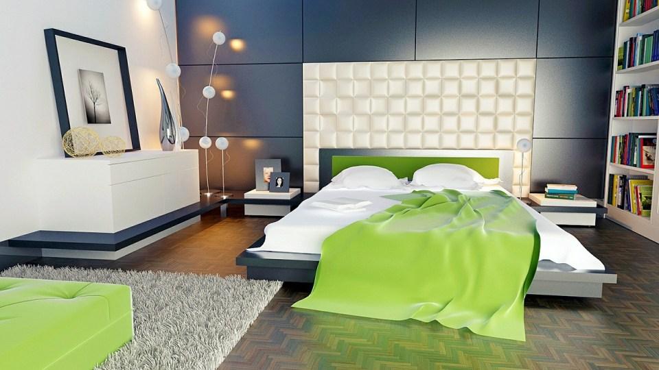 Moderní manželská postel na míru