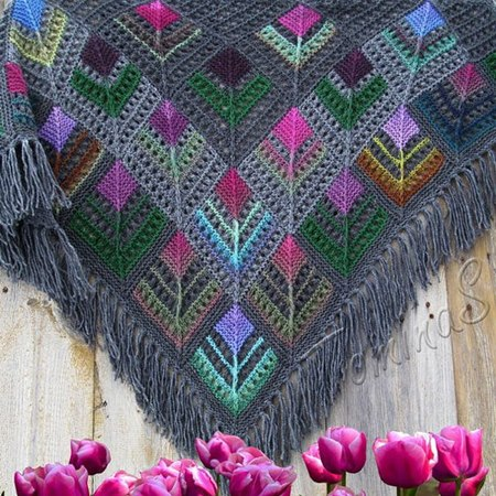 handmade- cotton- shawl