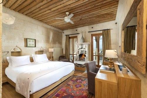 Argos- İn-Cappadocia-nevsehir-otel-somineli-oda
